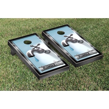 Plumbing Themed Cornhole Game Set