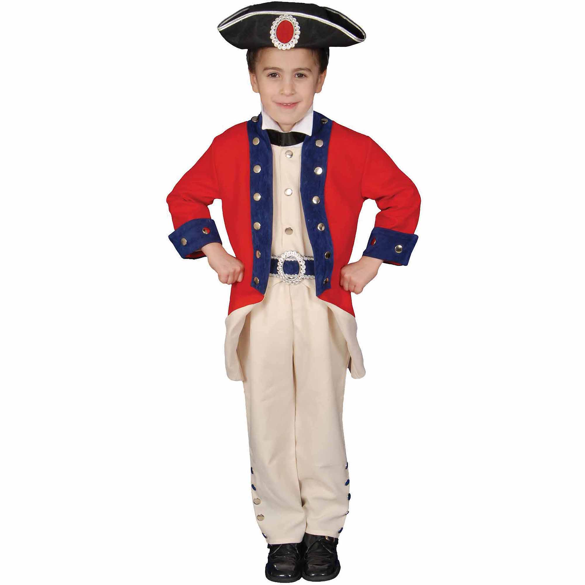 Colonial Soldier Child Halloween Costume
