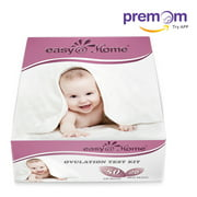 Easy@Home 50 Ovulation Test Strips and 20 Pregnancy Test Strips Kit-The Reliable Ovulation Predictor Kit (50 LH + 20 HCG)