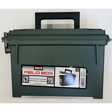 Stout Stuff Plastic Field Ammo Box Aluminum Field Box