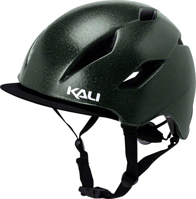 Kali Protectives Danu Helmet Solid Reflective Emerald Green SM/MD