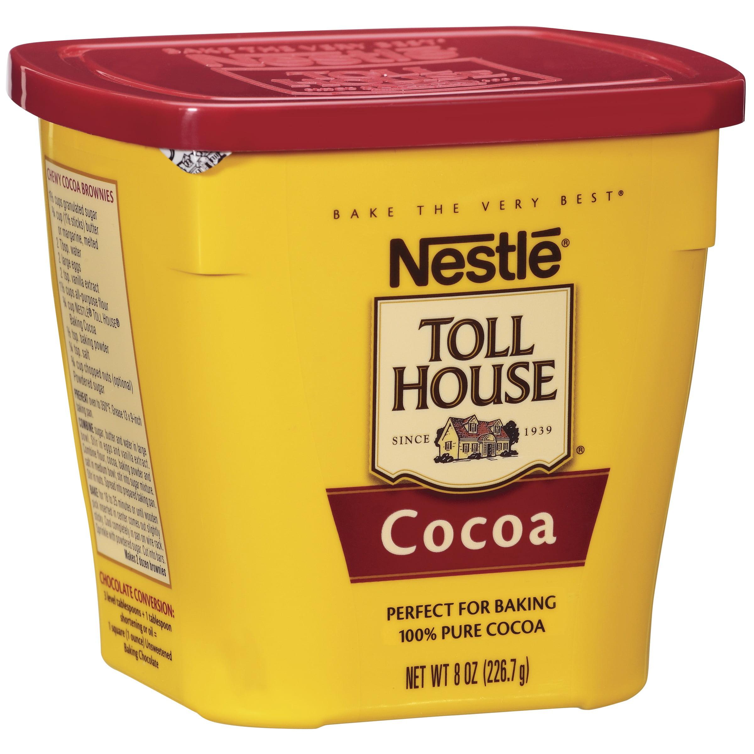 Nestle USA Inc. Nestl Baking, A Division Of Nestl Usa, Inc. Nestle Toll House Cocoa 8 Oz. Plastic Canister