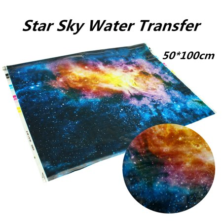 Star Universe Hydrographics Dipping Dipping Water Transfer Printing Film  0 5x1m