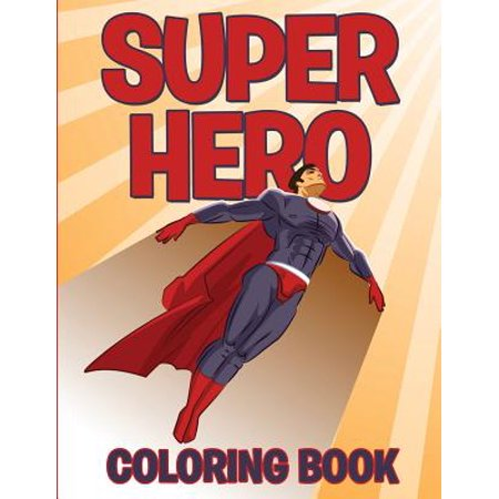 Superhero Coloring Book - Super Hero Letters
