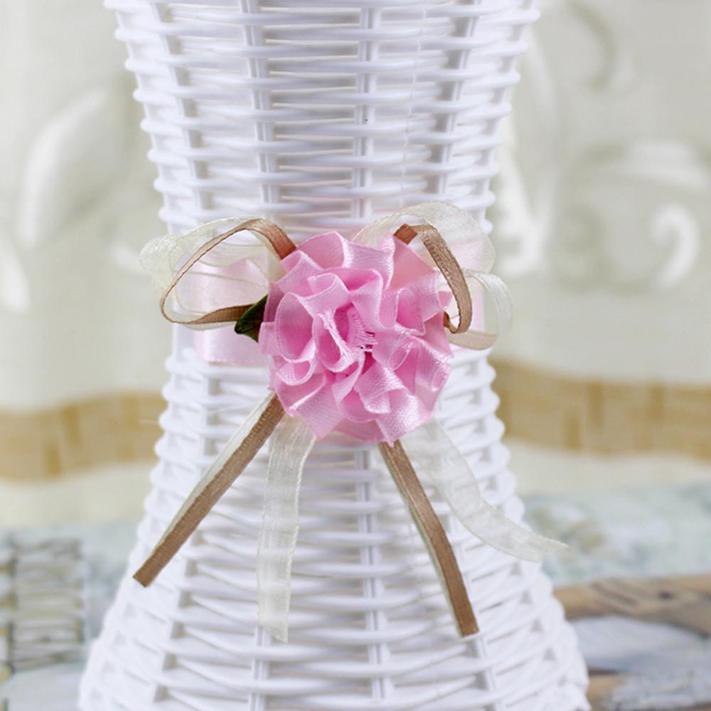 Mosunx Home Decor Nice Rattan Vase Basket Flowers Meters Orchid Artificial Flower Set