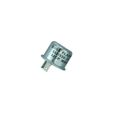 Thermal Electronic Flasher, 12v, 12.8a, Bussmann, BP-552-RP