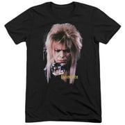 Labyrinth Goblin King Mens Tri-Blend Short Sleeve Shirt