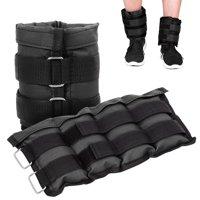 QF 1 pair adjustable ankle weights 1lb 2lb 3lb 4lb 5lb 6lb 8lb 10lb 20lb best wrist wraps for lifting running walking leg weights gym wrist weights for women kids