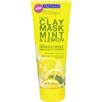 Freeman Clay Mask Mint & Lemon, 6.0 FL OZ