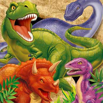 Dinosaur Adventure Party Supplies 48 Pack Lunch Napkins](Dino Party)