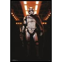 Star Wars The Force Awakens - Chrome Poster Poster Print