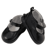"""""""18"""""""" Doll Shoes Clothing Accessory for 18"""""""" Dolls, High Quality Black Mary Janes & Shoe Box"""""""