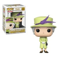 Funko POP - Royal Family - Queen Elizabeth II - W2 - Green - Vinyl Collectible
