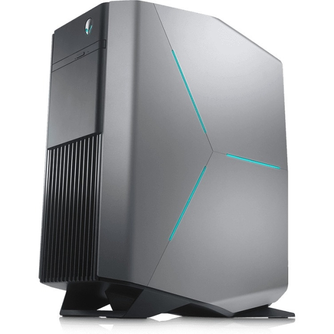 Alienware Aurora R6 Desktop PC with Intel Core i7-7700 Processor, 16GB Memory, 2TB Hard Drive, 256GB Solid State Drive and Windows 10 Home (Monitor Not Included) AWAUR6-7512SLV
