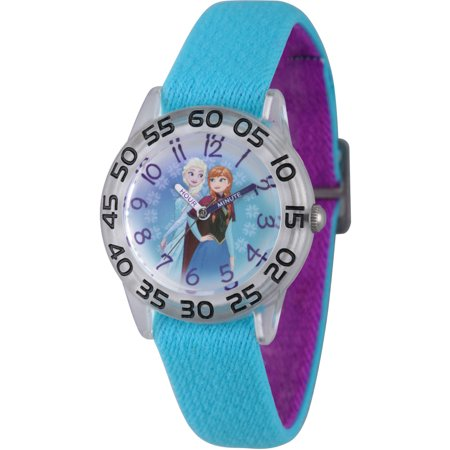 Kids Frozen Elsa & Anna Stretch Time Teacher Watch