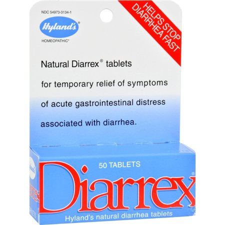 Image of Hylands Homeopathic Diarrex Tablets - 50 Tablets