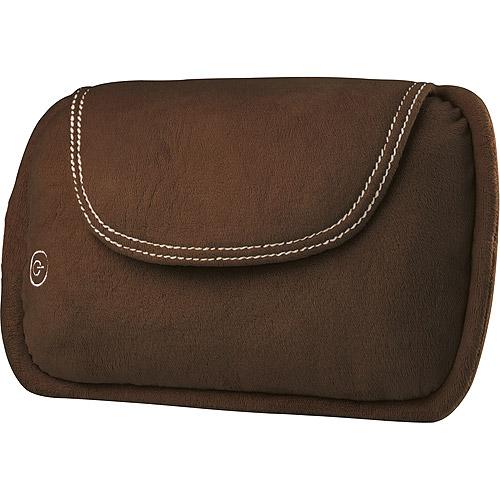 Homedics Shiatsu Lumbar Pillow With Heat Chocolate Brown
