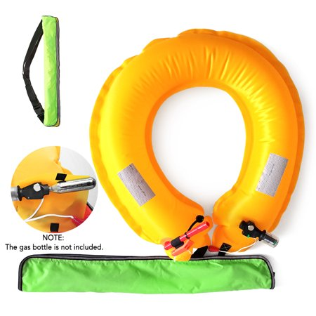 Life Belt Automatic Inflatable Life Buoy Waist Belt with Reflective Tapes For Boarding Kayaking (Best Inflatable Life Vest For Fishing)