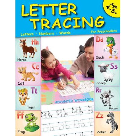 Letter Tracing for Preschoolers : Lots of Fun for Ages 3-5+ - Craft Ideas For Preschoolers For Halloween