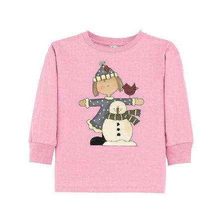 Costume Builder (snowman builder Toddler Long Sleeve)