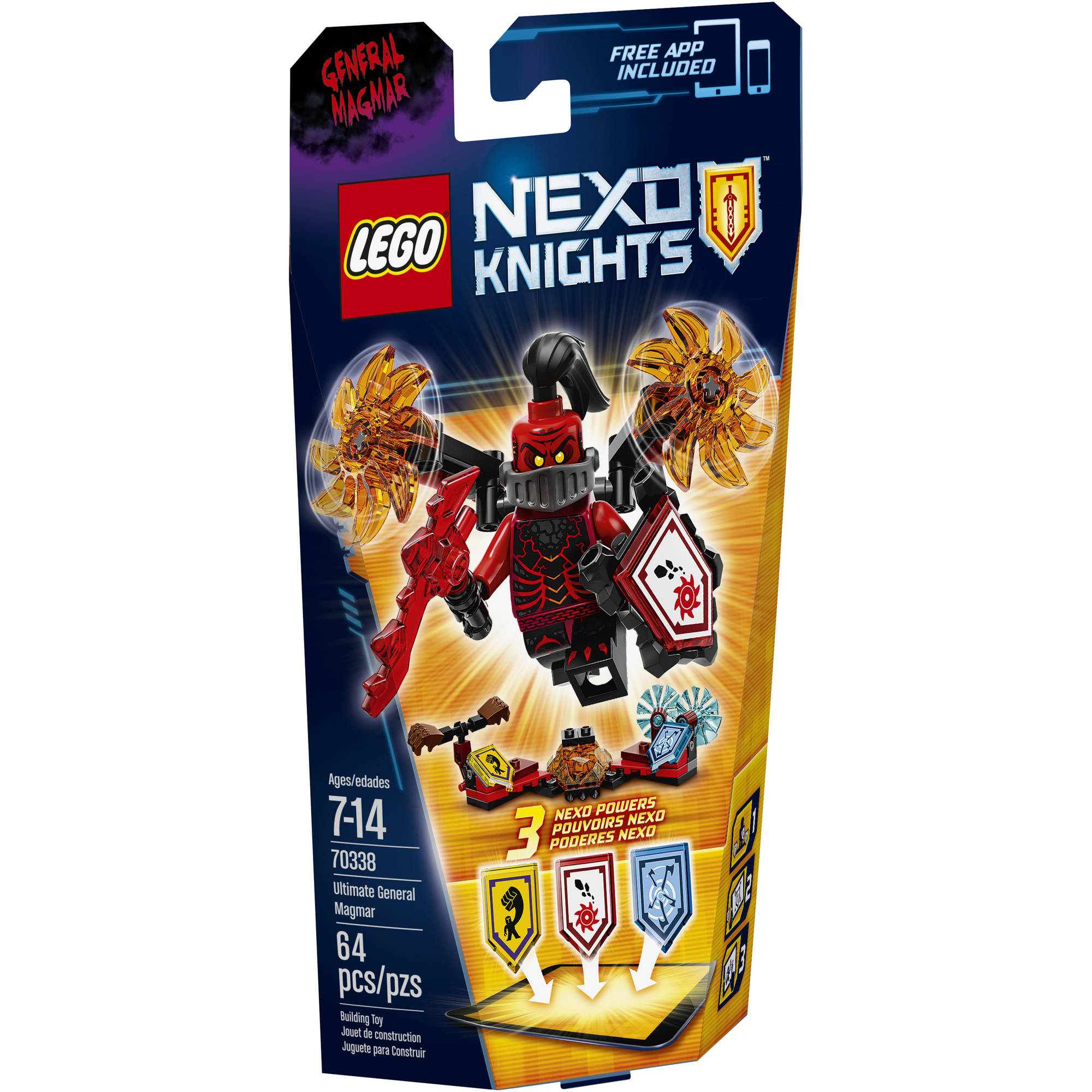 LEGO NEXO KNIGHTS Ultimate General Magmar, 70338
