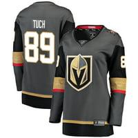432970ff77a Product Image Alex Tuch Vegas Golden Knights Fanatics Branded Women's  Breakaway Player Jersey - Black