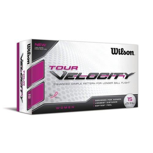 Wilson Tour Velocity Women's Golf Balls, 12pk
