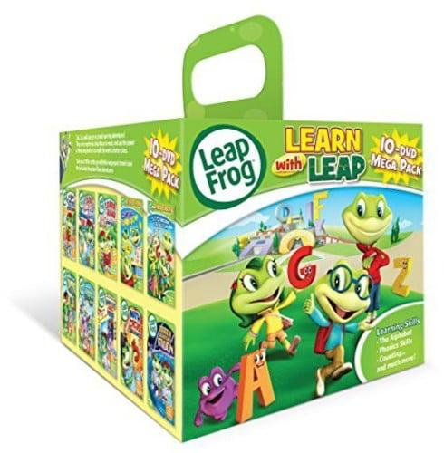 Leapfrog: Learn With Leap: 10-DVD Mega Pack (DVD)