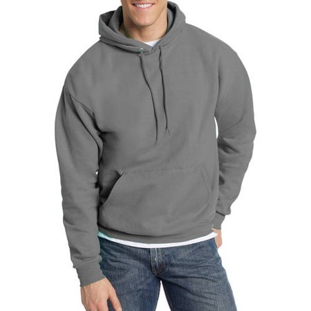 Garnet Mens Sweatshirt - Men's Ecosmart Fleece Pullover Hoodie with Front Pocket