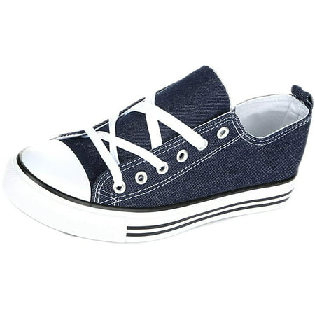 Girls Vans Slip On Shoes (Kids Sneakers Slip On Shoes for Children - Boys Girls Sneakers Non)