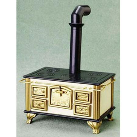 Dollhouse Old Fashioned Stove (Antique Stove Miniature)