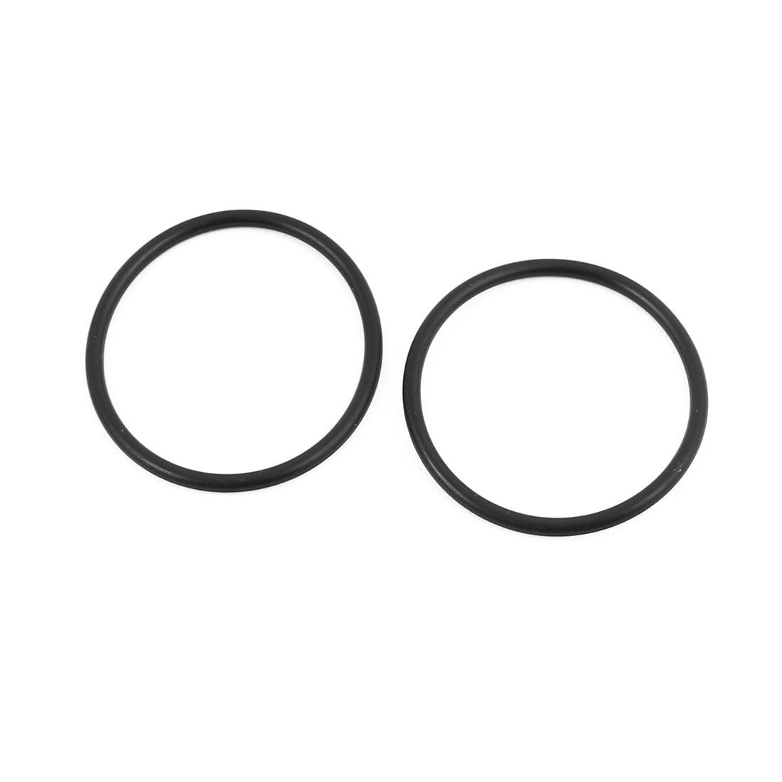 30Pcs 32mm x 1.9mm Rubber O-rings NBR Heat Resistant Sealing Ring Grommets Black