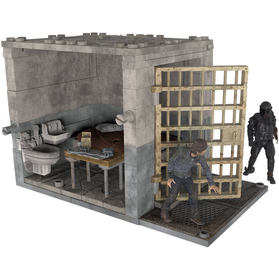 McFarlane Toys The Walking Dead Lower Prison Cell Construction Set