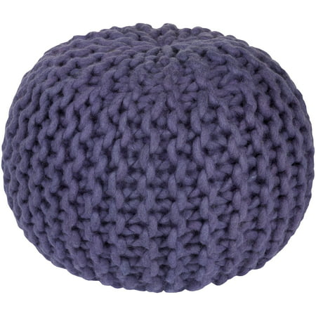 "20"" Violet Crochet Pattern Knitted Decorative Indoor Oval ..."
