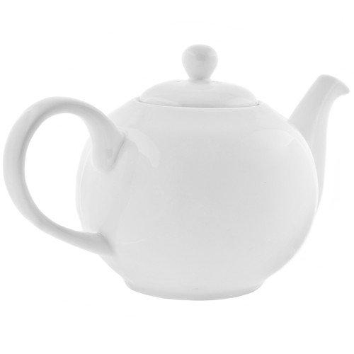 TenStrawberryStreet Royal White 1.25-qt. Teapot