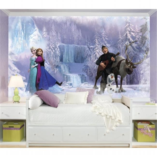 Room Mates JL1321M Disney Frozen Chair Rail Prepasted Mural - Ultra - Strippable
