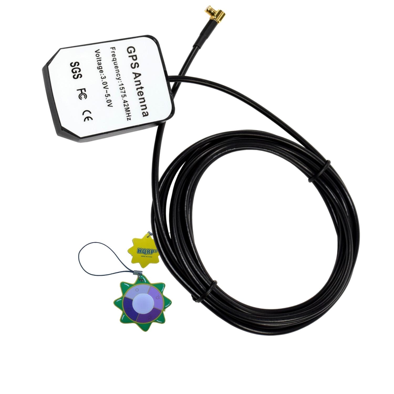 HQRP External GPS Antenna for Gps Models: GPSMAP 60 (010-00322-10) / GPSMAP 60C (010-00322-20) / GPSMAP 60CS (010-00322-30) / GPSMAP 76C (010-00352-00) Antenna Replacement + HQRP UV Meter