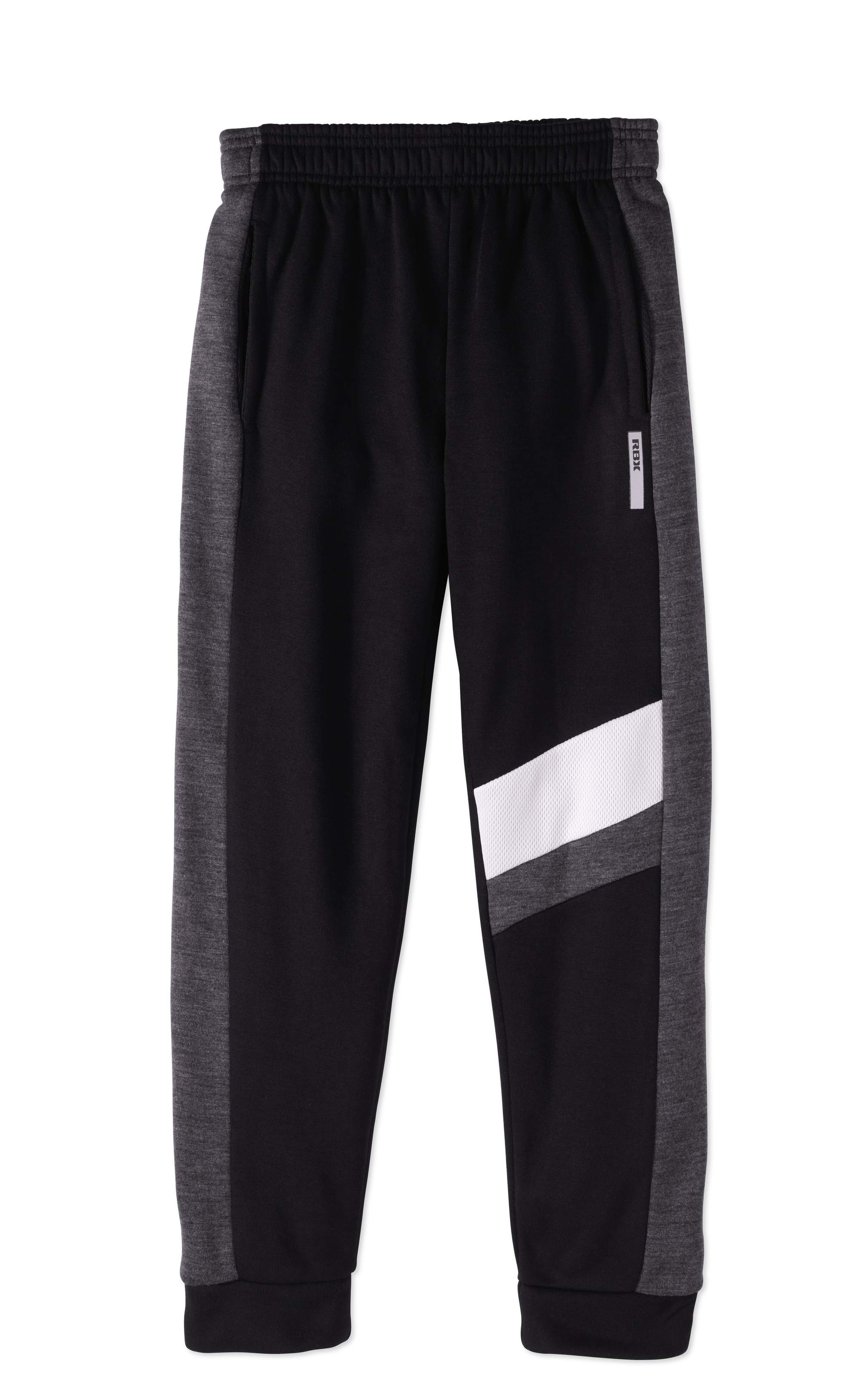 RBX Big Boys' Fleece Pants With Mesh Detail by