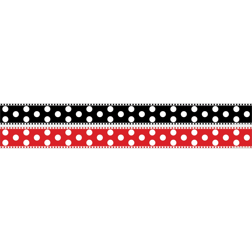 DOUBLE SIDED DOT BORDER