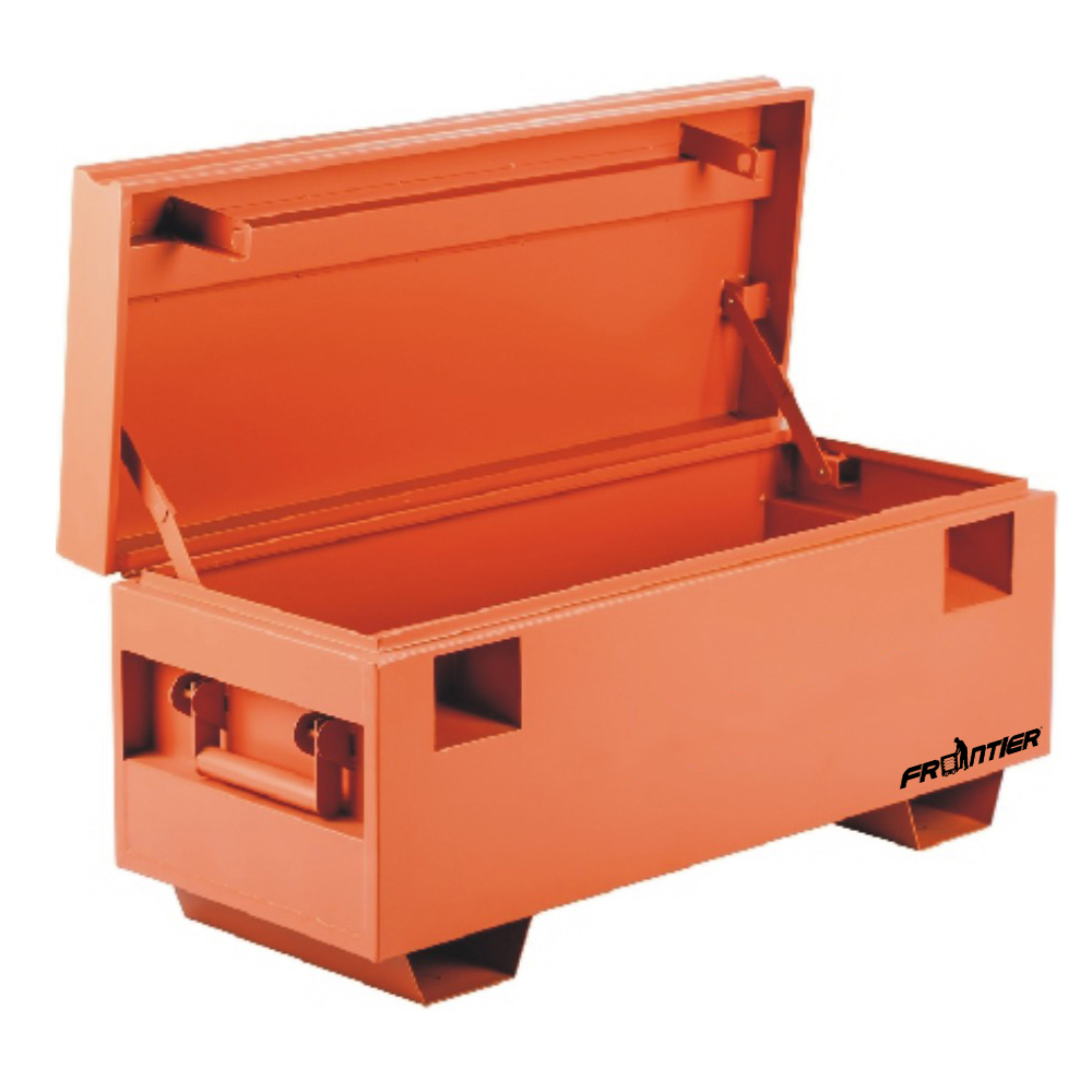 FRONTIER 48 inch W x 30 inch D x 30 inch H, Extra Large Steel Job Site Storage Box