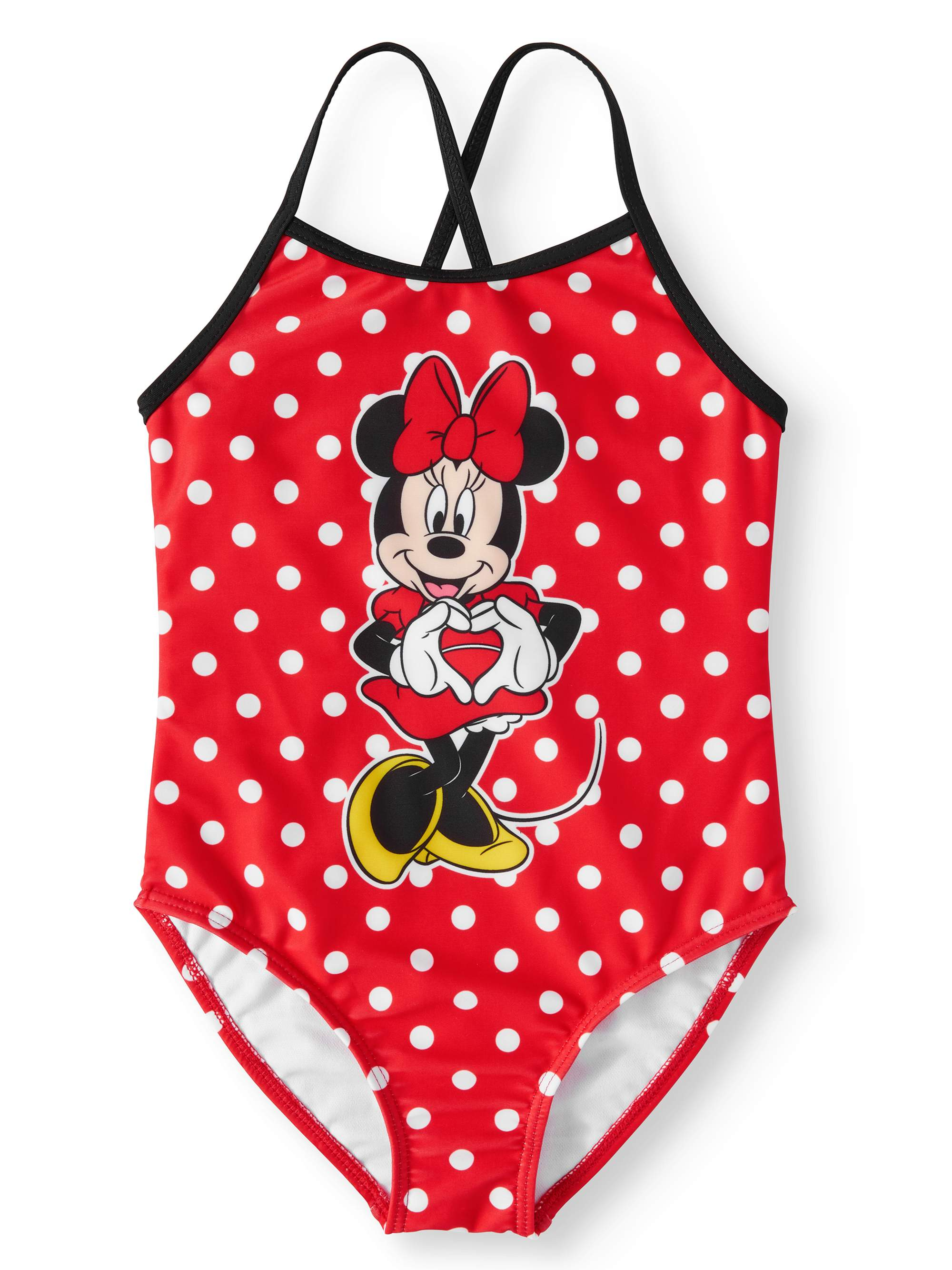 Minnie Mouse One-Piece Swimsuit (Little Girls)