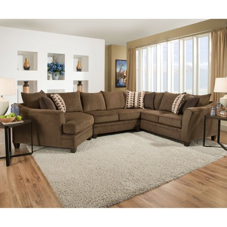 Simmons Upholstery Albany Sectional Sofa