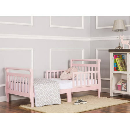 Dream On Me Sleigh Toddler Bed Pink