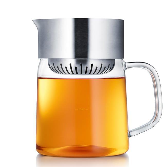 Stainless Steel Matt Jane Tea Maker