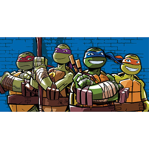 Teenage Mutant Ninja Turtles Microfiber Body Pillow