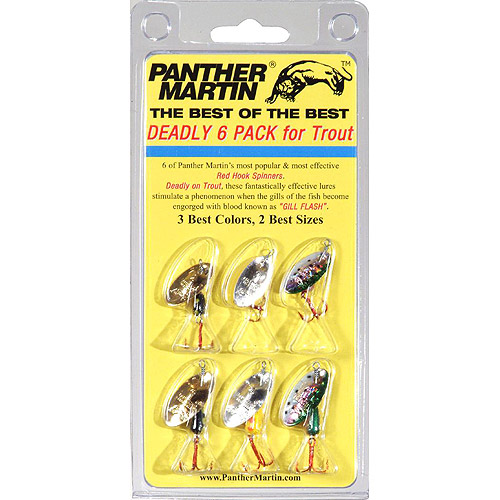 Panther Martin Best of the Best 6 Pack Lure Kit