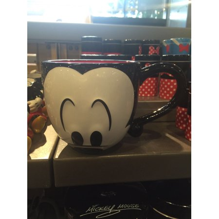 Disney Parks Signature Eyes Mickey Mouse Ceramic Coffee Mug New