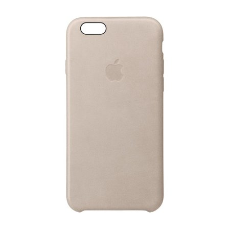 buy popular d487c d6407 Apple Leather Case for iPhone 6s Plus and iPhone 6 Plus - Rose Gray