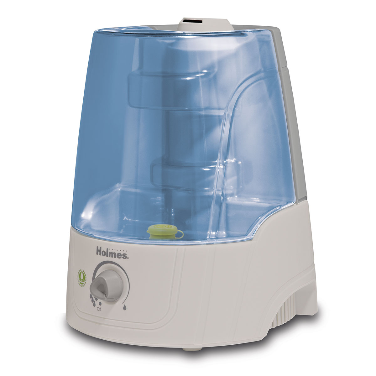 Holmes Ultrasonic Filter Free Air Humidifier 2 Gallon White