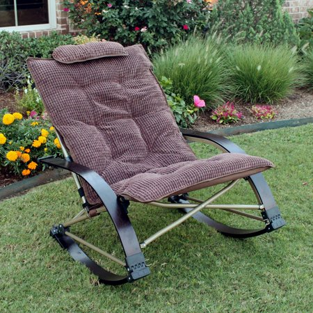 international caravan folding bentwood rocking chair with